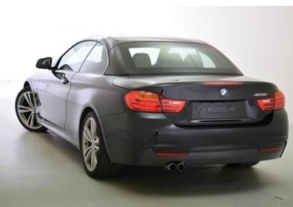 BMW 4 SERIES (03/2014) - BLACK METALLIC - lieu: