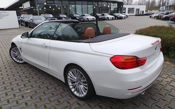 BMW 4 SERIES (12/2013) - MINERAL WHITE METALLIC - lieu: