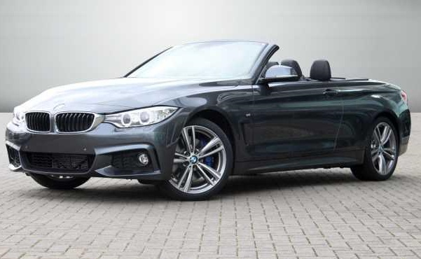 lhd BMW 4 SERIES (03/2014) - MINERAL GREY METALLI - lieu: