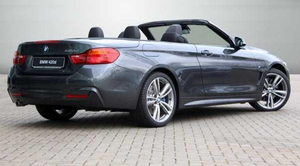 BMW 4 SERIES (03/2014) - MINERAL GREY METALLI - lieu: