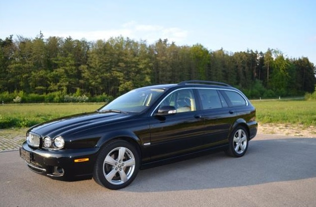 lhd JAGUAR X TYPE (07/2008) - BLACK - lieu: