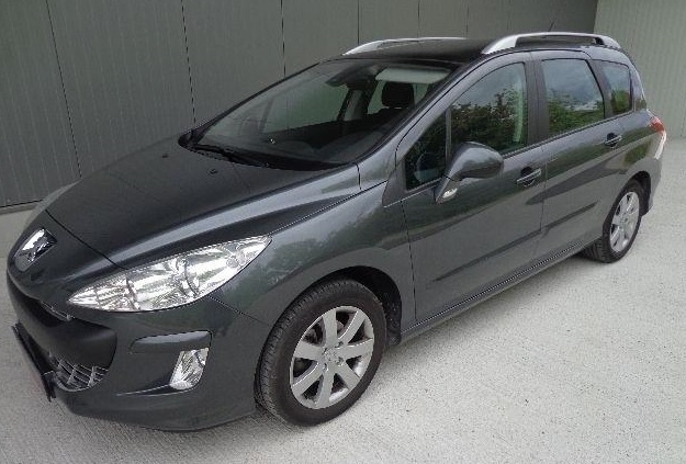 PEUGEOT 308 SW (12/2009) - GREY METALLIC - lieu: