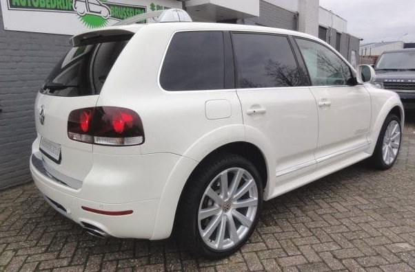volkswagen touareg 03 2009 white lieu. Black Bedroom Furniture Sets. Home Design Ideas