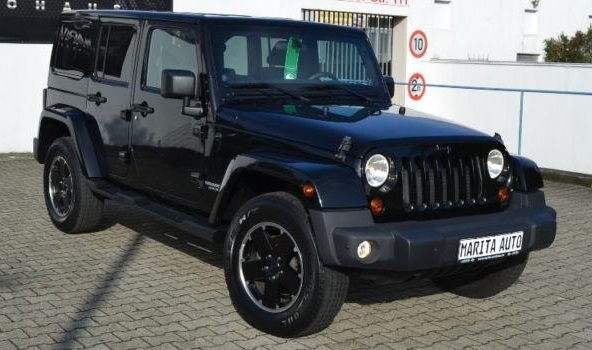 JEEP WRANGLER (01/2013) - BLACK METALLIC - lieu: