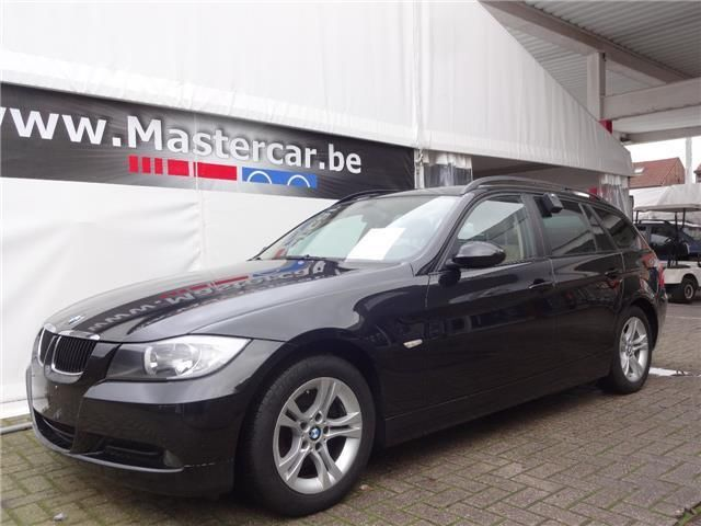 lhd BMW 3 SERIES (01/2008) - BLACK - lieu: