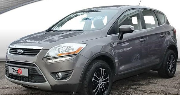 Lhd FORD KUGA (04/2012) - GREY METALLIC - lieu: