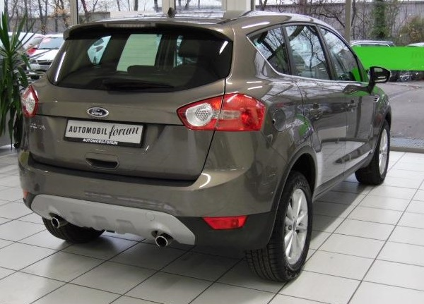 Lhd FORD KUGA (04/2012) - BRISBAIN BROWN METALLIC - lieu: