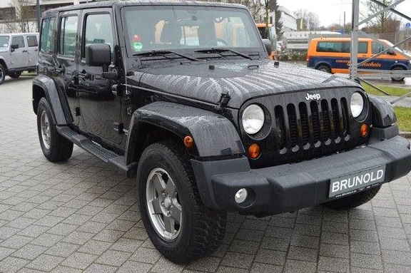JEEP WRANGLER (01/2012) - BLACK - lieu: