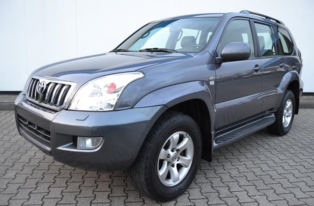 TOYOTA LANDCRUISER (08/2008) - GREY METALLIC - lieu: