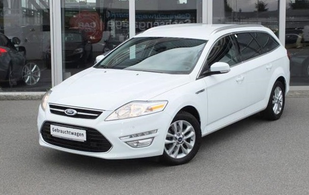 FORD MONDEO (08/2013) - WHITE - lieu: