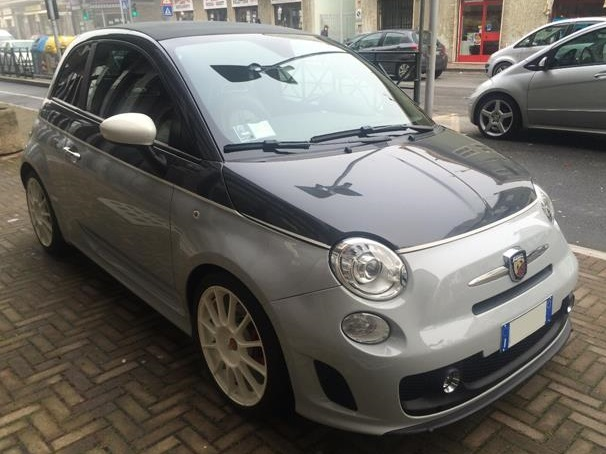 FIAT 500C (05/2011) - ABARTH IN SILVER METALLIC - lieu: