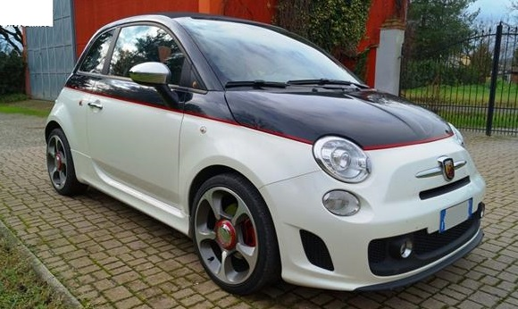 FIAT 500C (11/2010) - ABARTH IN WHITE - lieu: