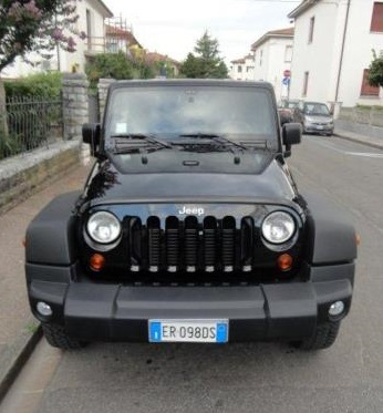 JEEP WRANGLER (02/2013) - BLACK - lieu: