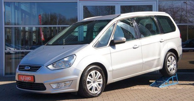 lhd FORD GALAXY (05/2011) - SILVER METALLIC - lieu: