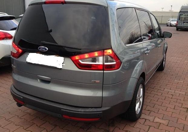 Lhd FORD GALAXY (04/2009) - GREY METALLIC - lieu: