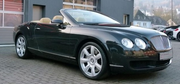 BENTLEY CONTINENTAL GTC (02/2009) - BELUGA METALLIC - lieu: