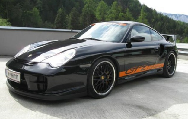 PORSCHE 911 996 911 996 GT2 CLUB SPORT COUPE LIMITED EDITION