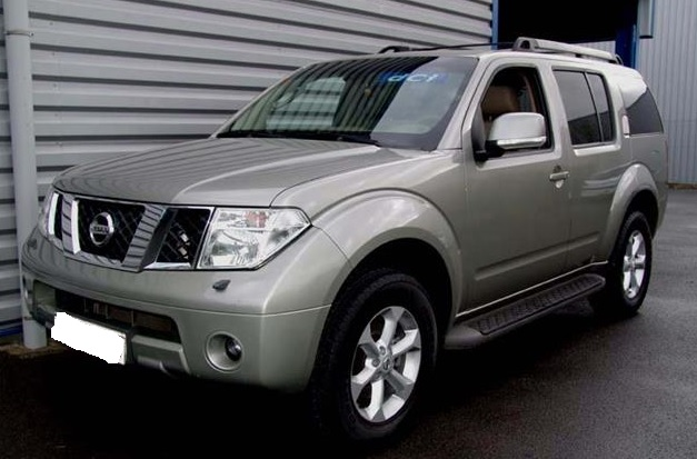 lhd NISSAN PATHFINDER (06/2008) - GREY METALLIC - lieu: