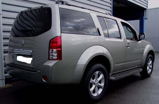 NISSAN PATHFINDER (06/2008) - GREY METALLIC - lieu: