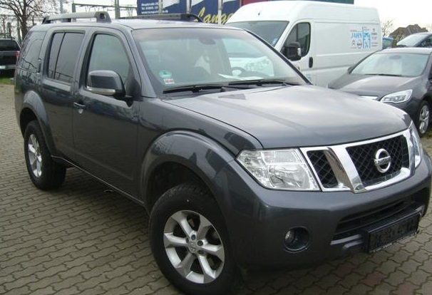 Lhd NISSAN PATHFINDER (03/2012) - BLUE GREY METALLIC - lieu: