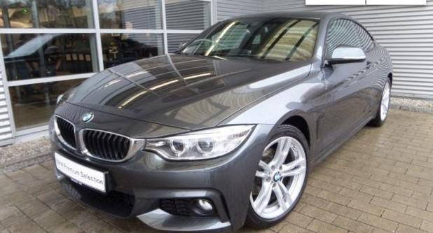 lhd BMW 4 SERIES (03/2014) - GREY METALLIC - lieu: