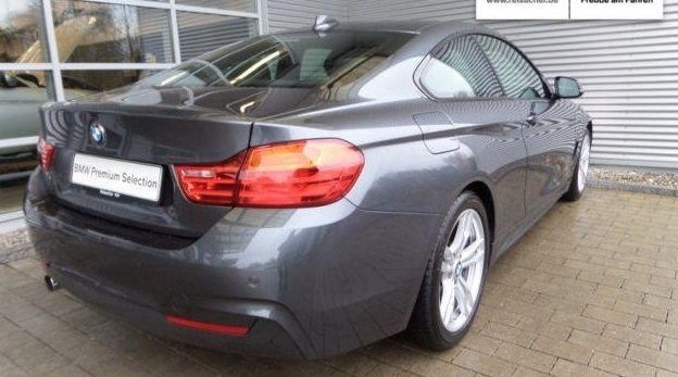 BMW 4 SERIES (03/2014) - GREY METALLIC - lieu: