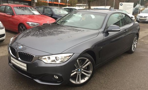 BMW 4 SERIES 428I COUPE SPORT LINE