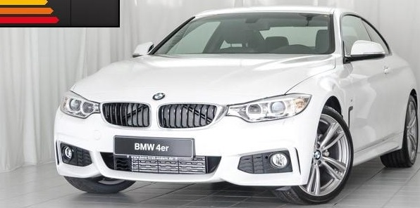 lhd BMW 4 SERIES (10/2014) - WHITE - lieu:
