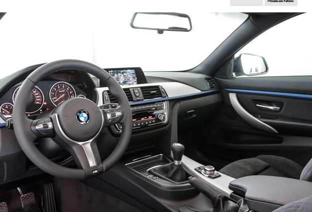 BMW 4 SERIES (10/2014) - WHITE - lieu: