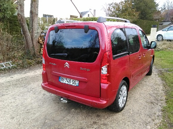 CITROEN BERLINGO (02/2011) - BORDEAUX - lieu: