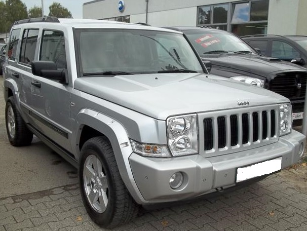 JEEP COMMANDER 3.0 CRD DPF 7 SEATS