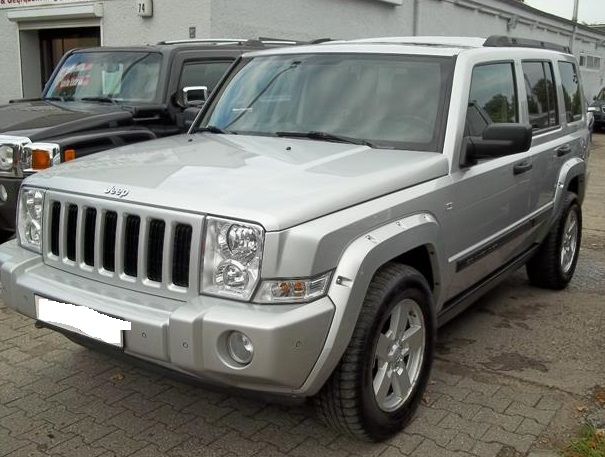 JEEP COMMANDER (01/2008) - SILVER METALLIC - lieu: