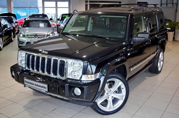 JEEP COMMANDER 3.0 CRD 4X4 LIMITED 7 SEATS