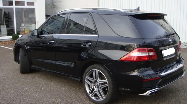 MERCEDES ML CLASS (07/2012) - ML 63 AMG BLACK - lieu: