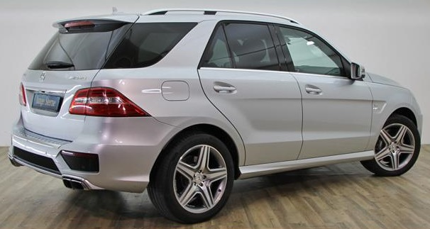 MERCEDES ML CLASS (10/2012) - ML 63 AMG - WHITE - lieu: