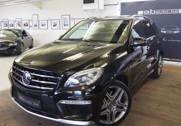 MERCEDES ML CLASS ML 63 AMG