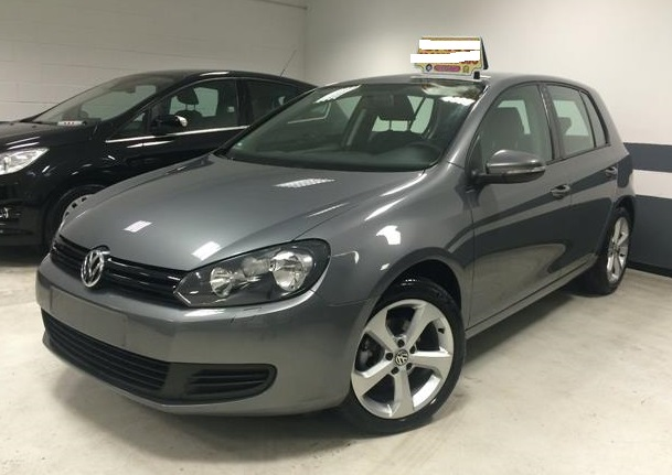 lhd VOLKSWAGEN GOLF (11/2011) - GREY METALLIC - lieu: