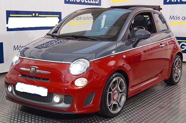 FIAT 500C (03/2014) - RED MIX - lieu: