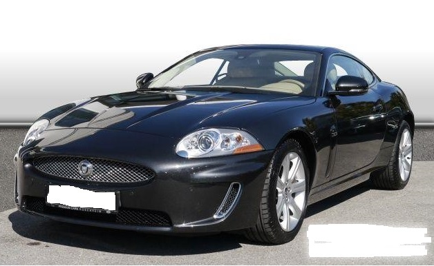 JAGUAR XK8 (10/2010) - STRATUS GREY METALLIC - lieu: