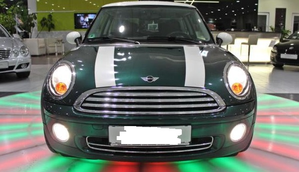 MINI COOPER (03/2008) - GREEN METALLIC - lieu:
