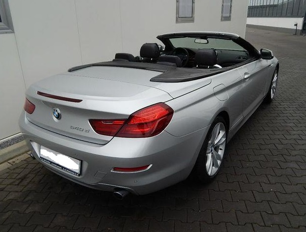 BMW 6 SERIES (09/2013) - SILVER METALLIC - lieu: