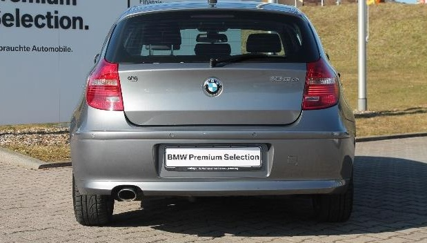 BMW 1 SERIES (06/2011) - SILVER METALLIC - lieu:
