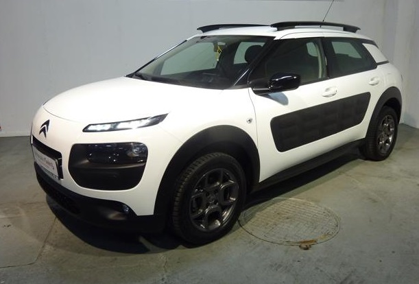 lhd citroen c4 cactus 06 2014 white lieu. Black Bedroom Furniture Sets. Home Design Ideas