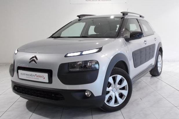 lhd citroen c4 cactus 06 2014 silver metallic lieu. Black Bedroom Furniture Sets. Home Design Ideas