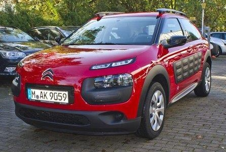 CITROEN C4 CACTUS (09/2014) - RED - lieu: