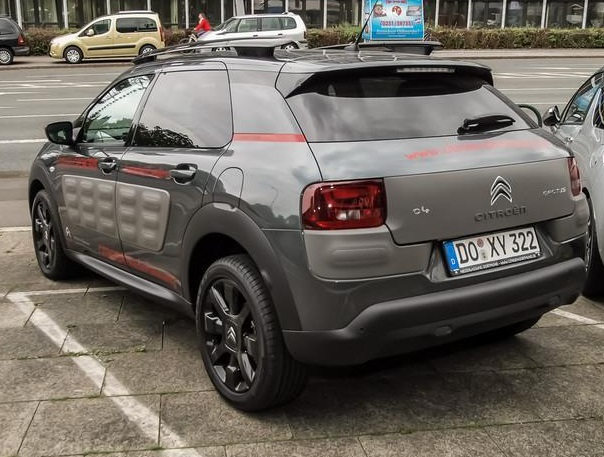 citroen c4 cactus 08 2014 grey metallic lieu. Black Bedroom Furniture Sets. Home Design Ideas