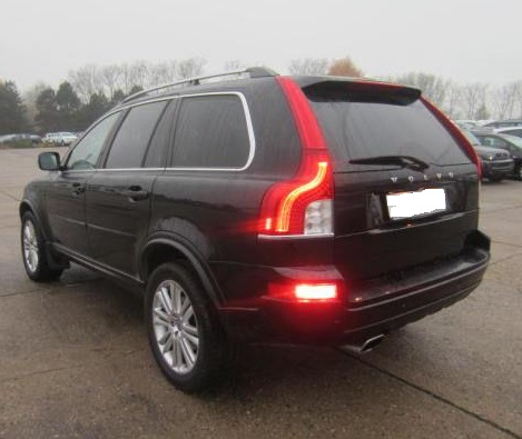 VOLVO XC 90 (06/2013) - BLACK METALLIC - lieu: