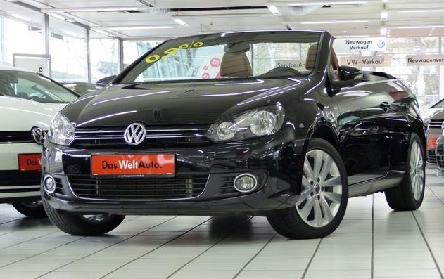 Lhd VOLKSWAGEN GOLF (03/2014) - BLACK METALLIC - lieu: