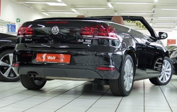 VOLKSWAGEN GOLF (03/2014) - BLACK METALLIC - lieu:
