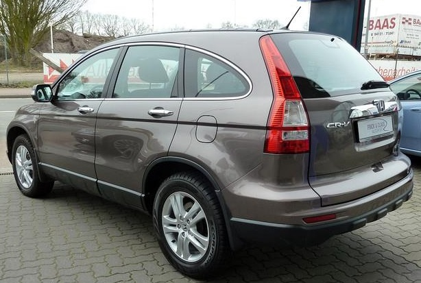 Lhd HONDA CR V (08/2010) - BROWN METALLIC - lieu: